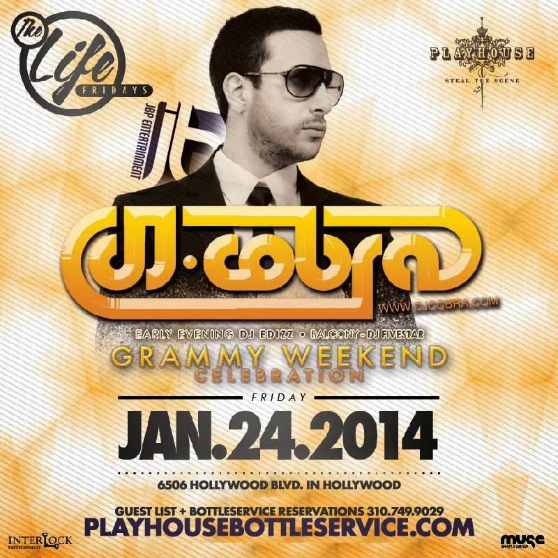 """Playhouse Hollywood Fridays 2014 January 24"""