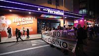 """Vecinos de Tetuán marchan contra las salas de juego: """"Es un casino al aire libre"""""""