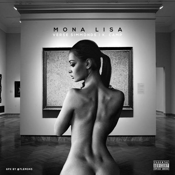 Verse Simmonds - Mona Lisa (feat. K CAMP) - Single Cover
