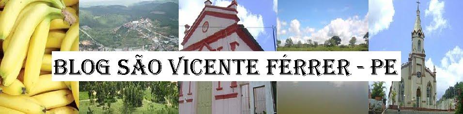 Blog São Vicente Ferrer - PE