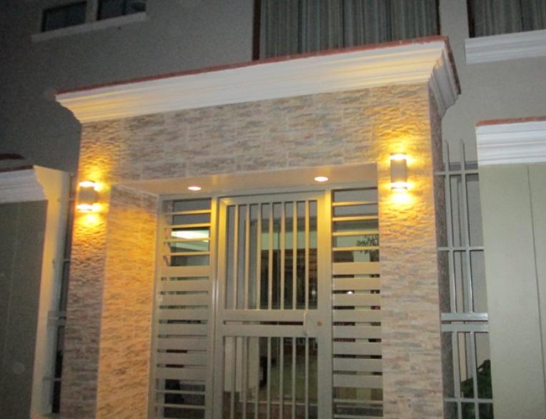 lamparas para entrada principal materiales para la