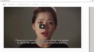 """Trang web chính thức của ACPA quảng bá chiến dịch """"Về đi Vàng ơi!"""" của Việt Nam"""