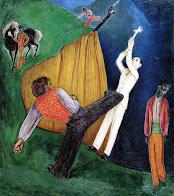 Nils von Dardel - Execution (1919)