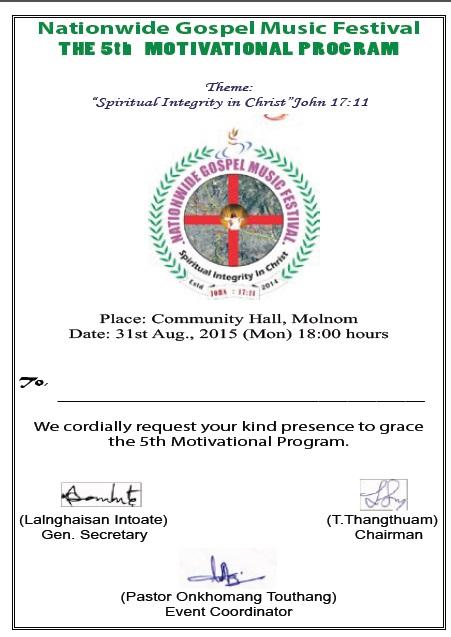 Tunitak in Molnom ah NGMF 5th Motivation Programme