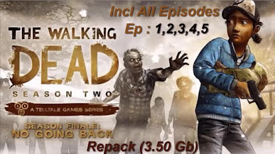 Free Download Game The Walking Dead: Season Two Episodes 1-5 Pc Full Version – Repack Version – Incl All Episodes – Ep 1,2,3,4,5 – Direct Link 2015 – Torrent Link – 3.48 GB – Working 100%