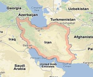 Iran_google_map