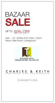 Charles & Keith Bazaar Sale