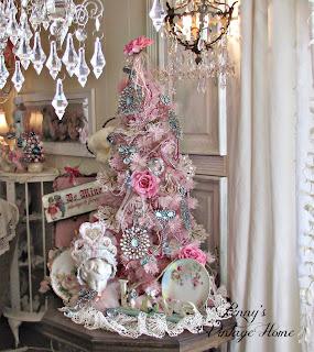 Pink Valentine's Tree