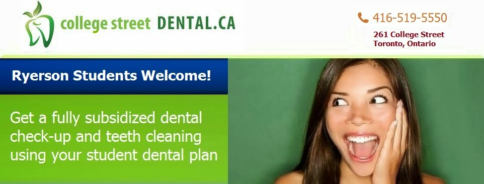 College Street Dental - Ryerson Dental Plan