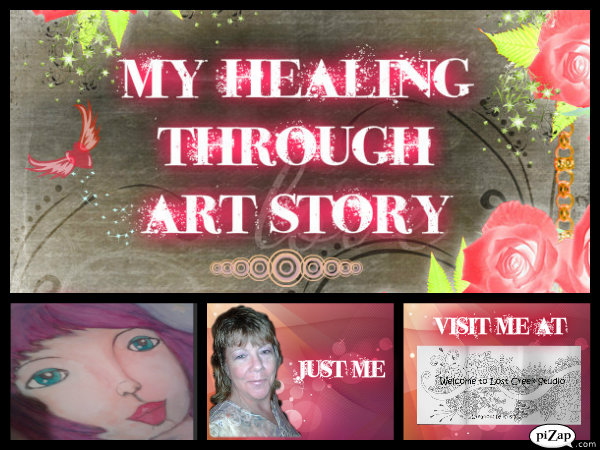 My Healing through art story