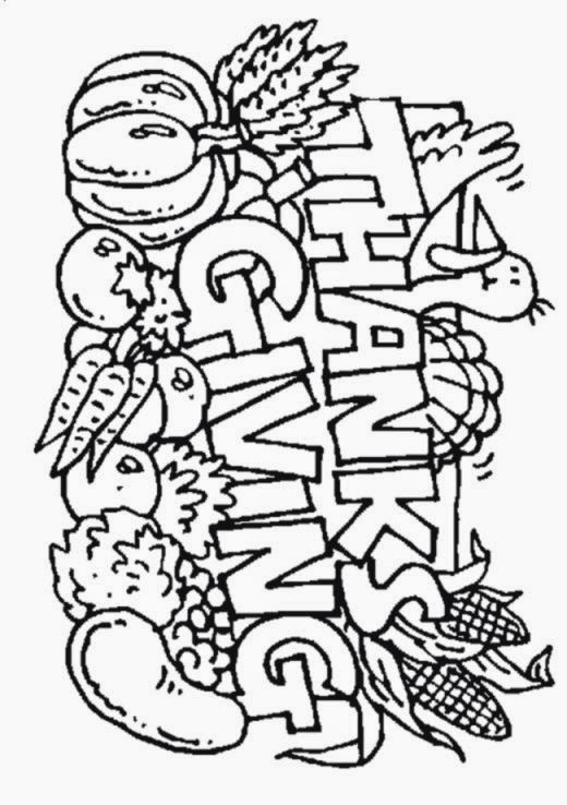 Thanksgiving Coloring Pages Kids   AZ Coloring Pages