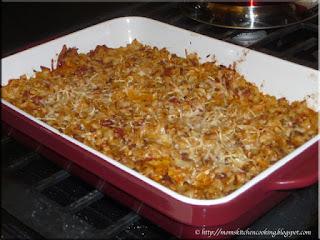 faux lasagna casserole