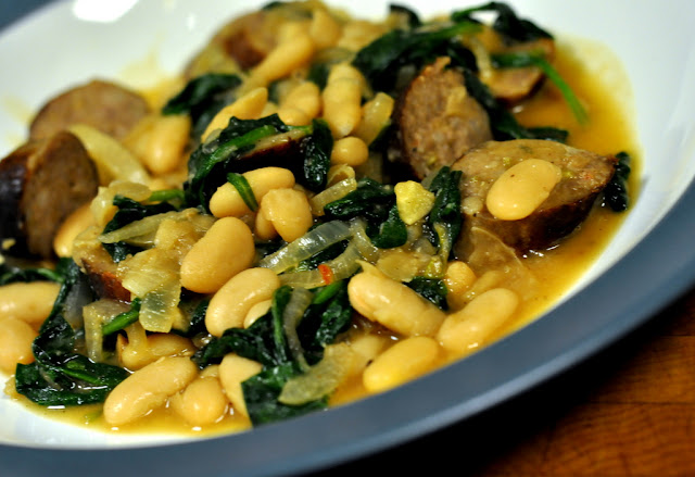 Italian White Bean and Sausage Stew | Taste As You Go