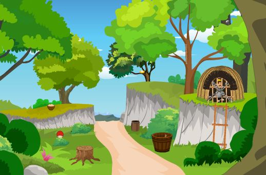 Play TheEscapeGames Mystic Forest Officer Escape