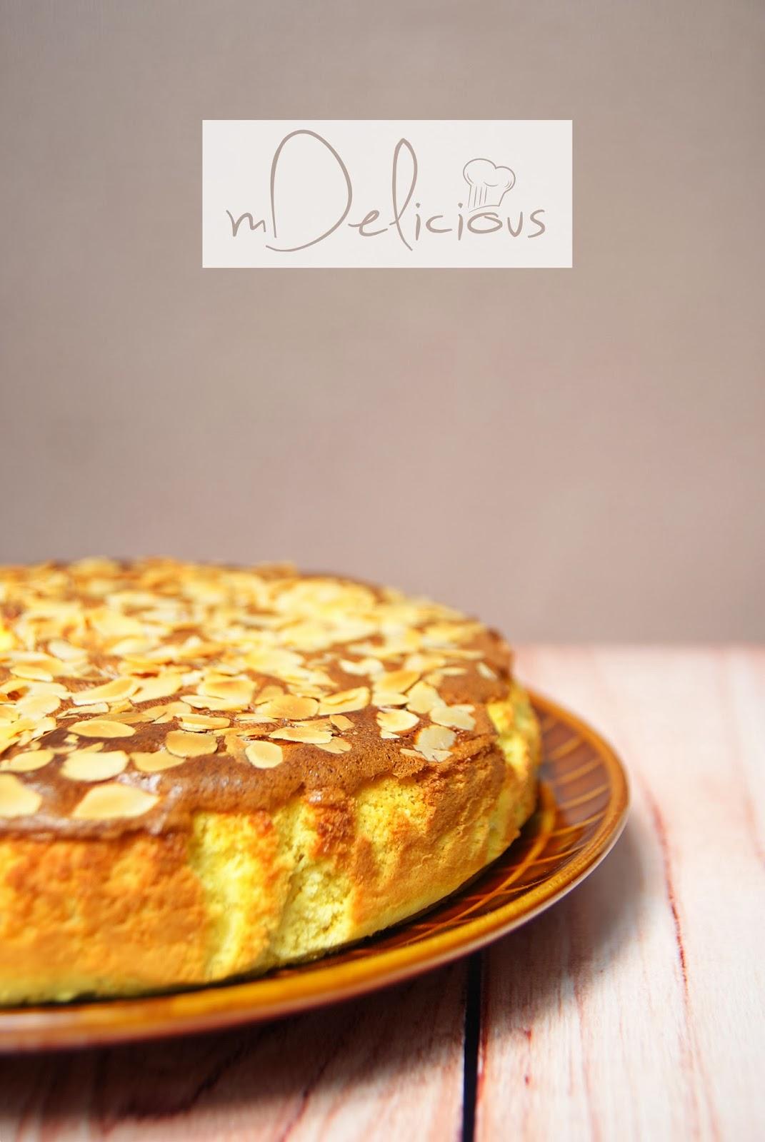 ciasta bezglutenowe, ciastoz migdałami