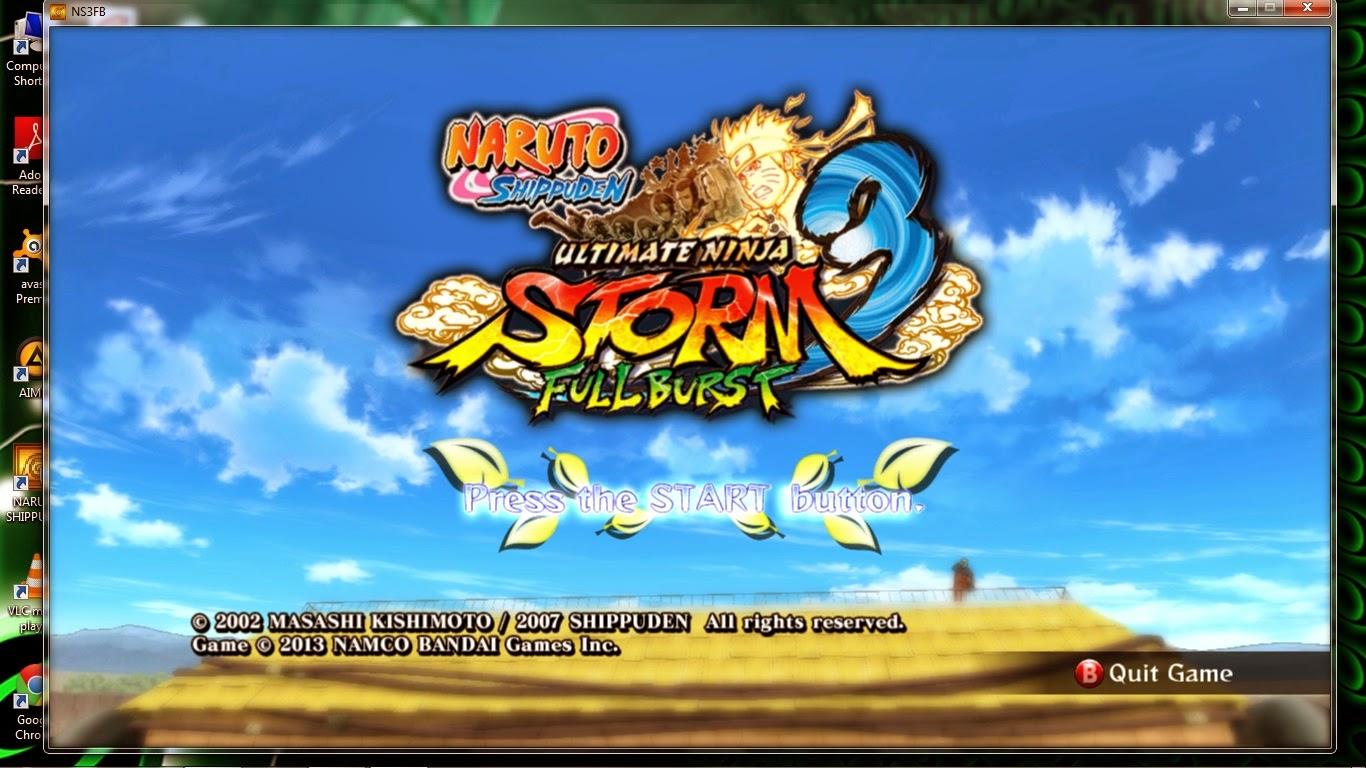 naruto shippuden ultimate ninja storm 3 full crack
