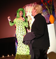 Hedda Lettuce dishes out Boy Butter at Chelsea Classics Movie Night on Thursdays