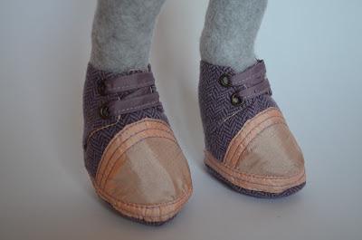 Мастер класс, мастер-класс, мастер класс обувь, как сделать обувь, обувь для куклы, Буслова Евгения