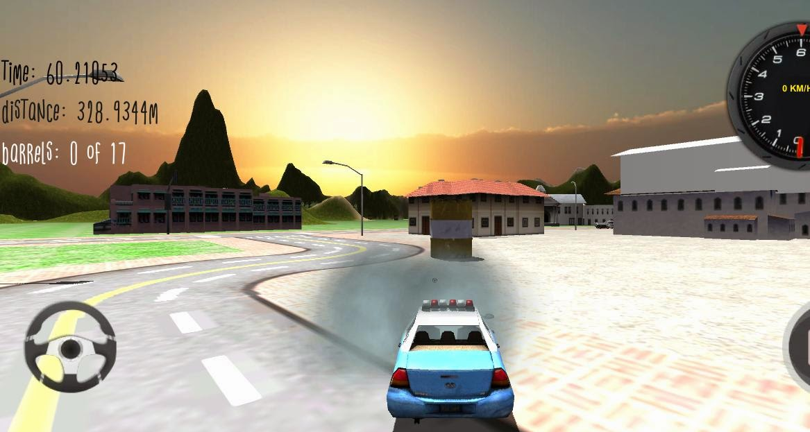 Police Car Driver 3D Android Apk Oyun resimi