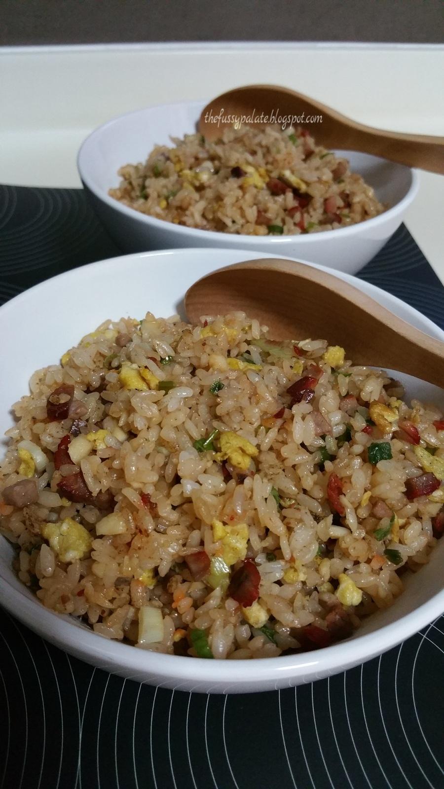 The fussy palate japanese garlic fried rice japanese garlic fried rice ccuart Image collections