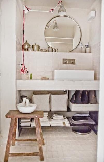 mueble lavamanos abierto