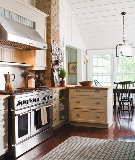 New Home Interior Design: Cottage Kitchens