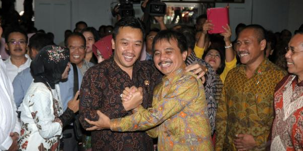 Menpora: Kalau Roy Suryo Ahli Telematika, Kasus Mafia Sudah Terungkap Sejak Dulu