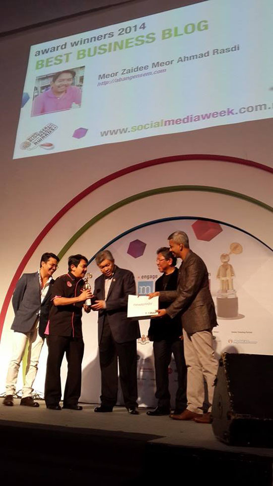 AbangEnsem.com Best Business Blog MSMW2014