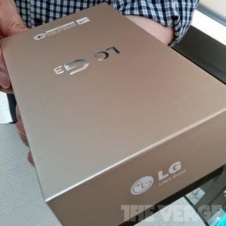 LG G3 retail box leaks online