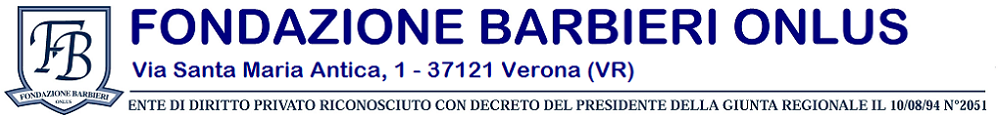 Fondazione Barbieri Onlus - Verona