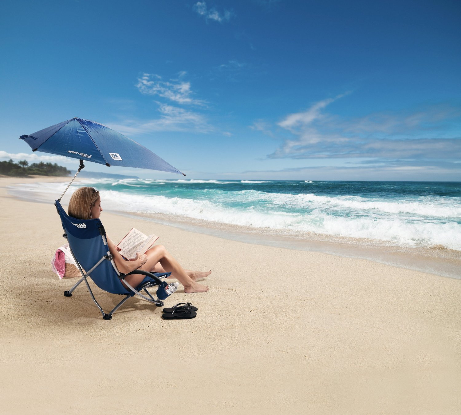 Sport-Brella Beach Chair - Portable Umbrella Chair & Portable Umbrella Chair: Kelsyus Kids Canopy Chair Umbrella Chair