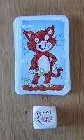 Wollmilchsau - The Cat card & dice
