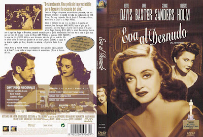 caratula, cover, dvd: Eva al Desnudo | 1950 | All About Eve