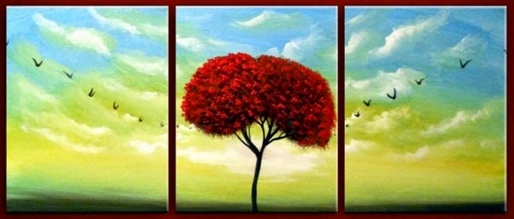 Im genes arte pinturas pinturas al leo paisajes - Cuadros modernos faciles de pintar ...