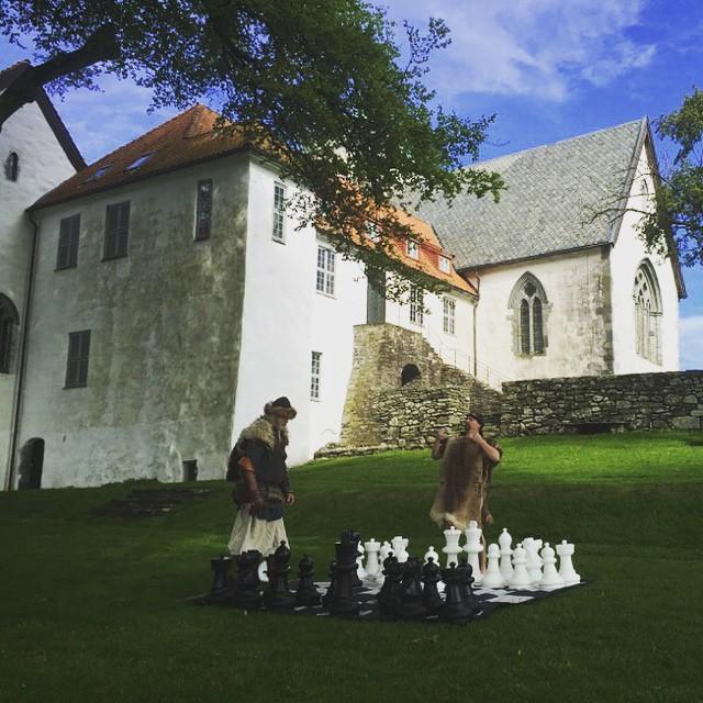 Abadía de Utstein, sede de la cuarta ronda del Norway Chess 2015