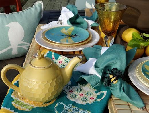 morning meditation tea table - photo #17