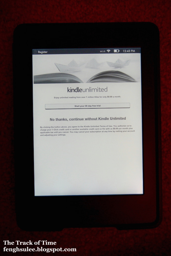 how to change time on kindle paperwhite