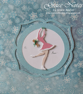beautiful skater gift tag