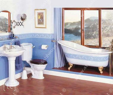 Traditional classic bathroom furniture set