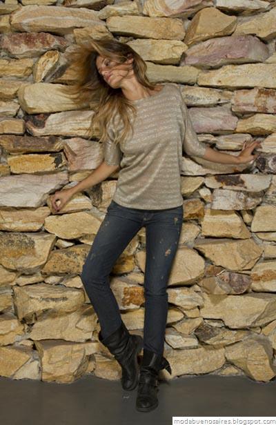 Vov Jeans Moda otoño invierno 2012. Paula Chaves.