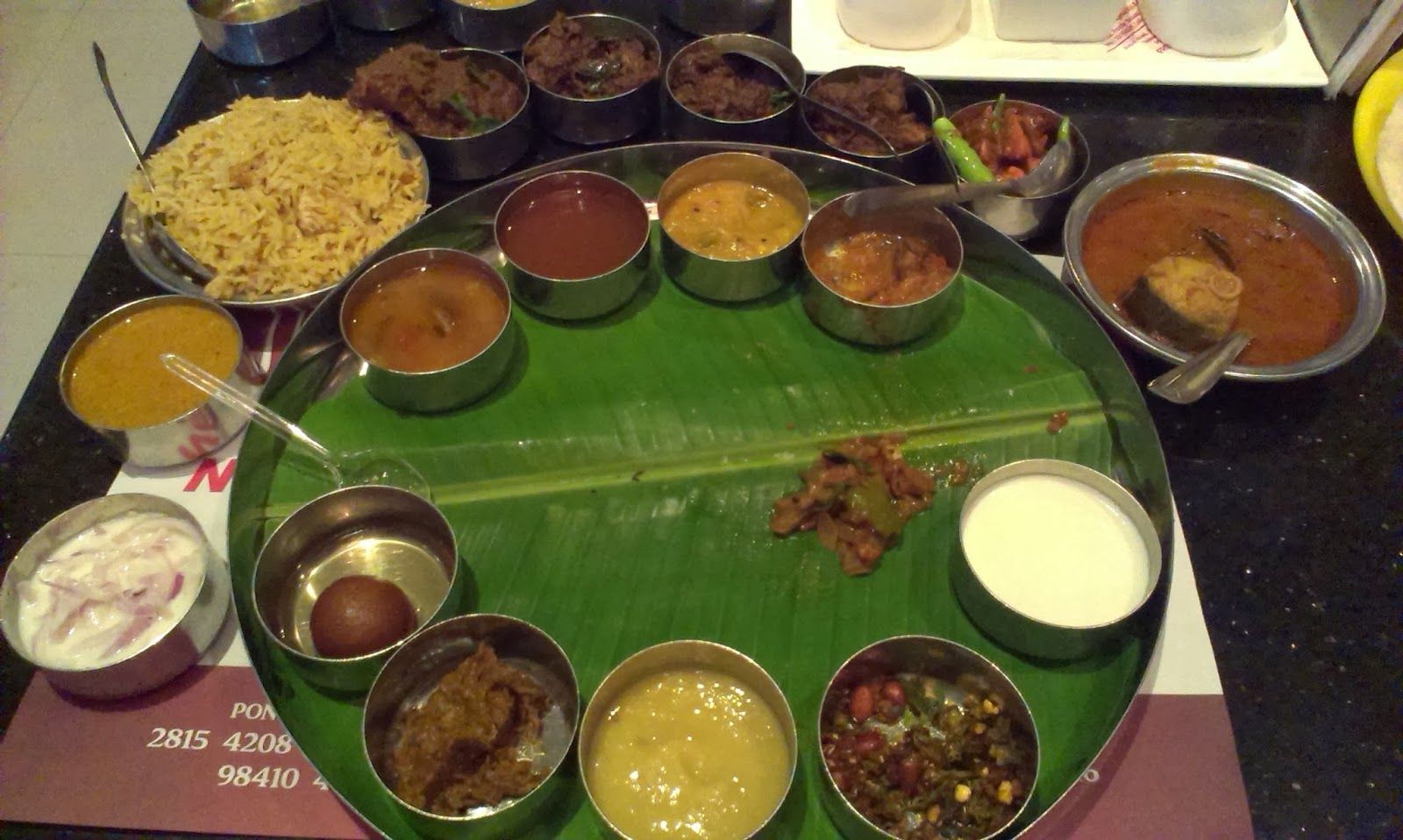 New andhra meals the foodie diaries for Andhra cuisine dishes