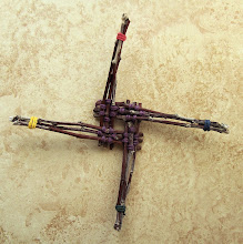 Brizel apple wood Brigid Crosses