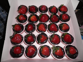 Coklat strawberry
