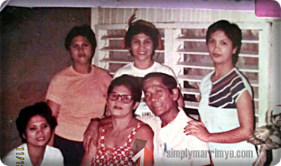 Simplymarrimye's NANAY... The MOTHER Who Started It All / Nanay Tacing and Tatay Narding and their 4 daughters
