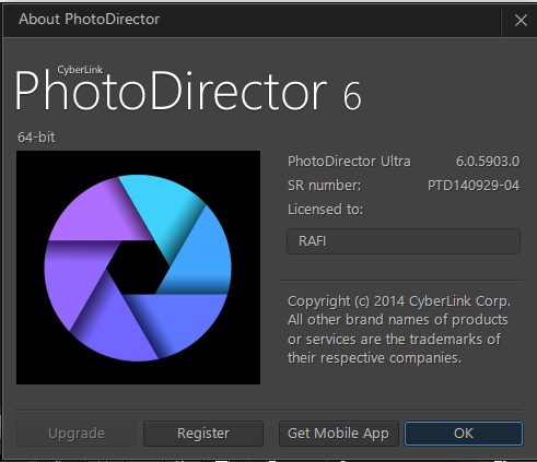 Cyberlink photodirector 4 ultra auto activate