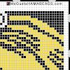 hama beads midi under your spell viñeta