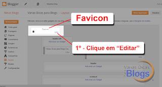 Como alterar o ícone do Blog que aparece na aba do navegador