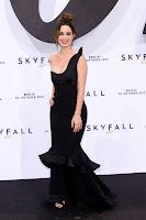 Berenice Marlohe looking hot in a black dress