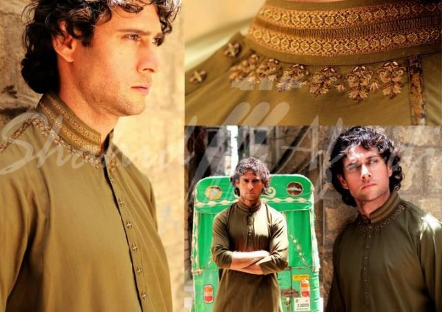 Shahid Afridi Clothing Shahid Afridi Stylish Salwar