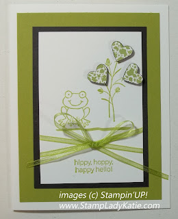 Card made with Stampin'UP! Stamp Set: Turtle and company. Made by StampLadyKatie